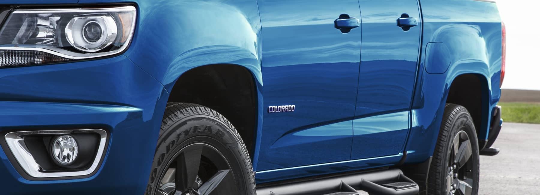 Blue 2021 Chevrolet Colorado