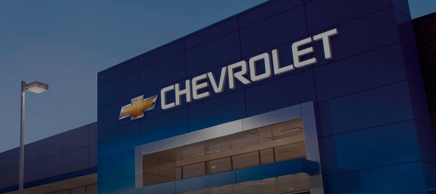 Chevrolet dealership image