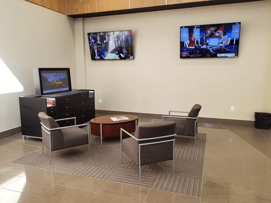 Facility waiting room