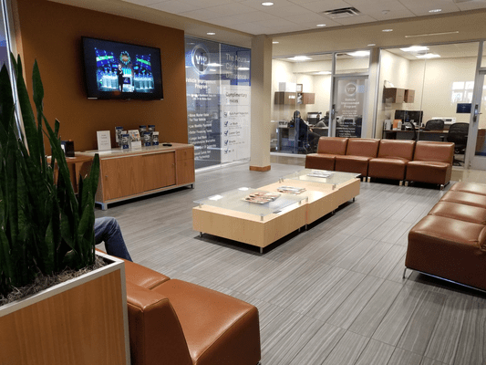 certified techician waiting room