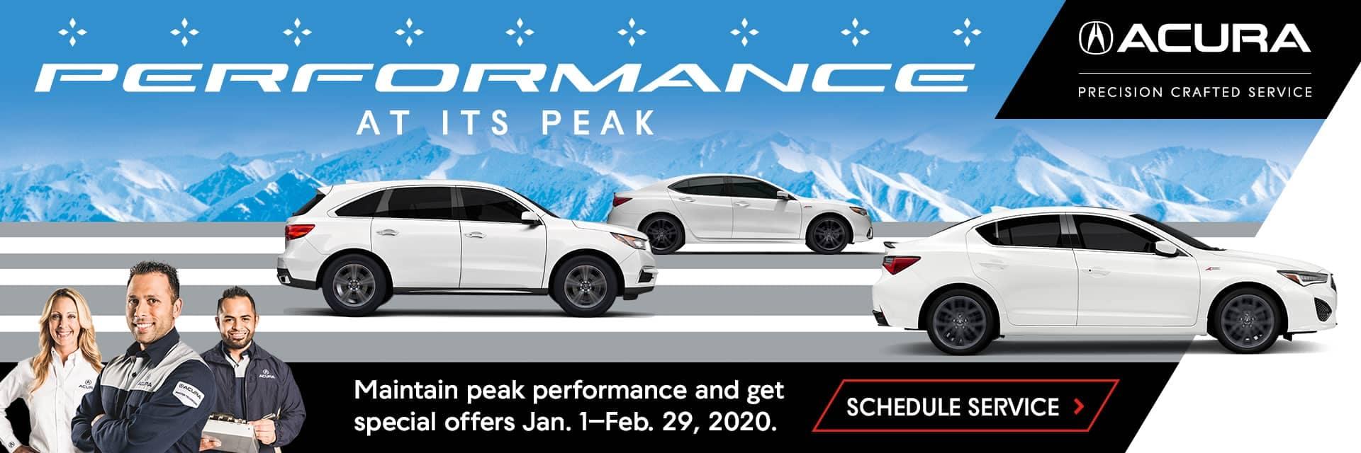 Maintain peak performance banner