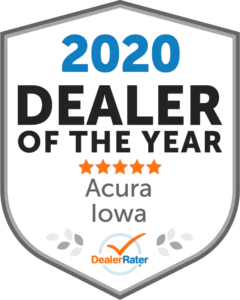2020 Dealer of the Year DealerRater