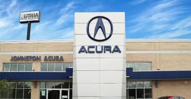 Acura of Johnston Dealership Exterior