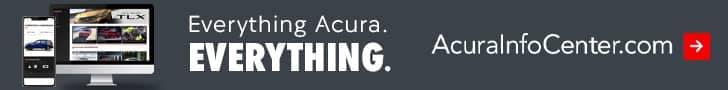 Acura Info Center banner