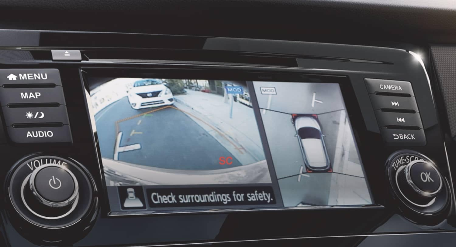 2020 Nissan Qashqai Around View Monitor