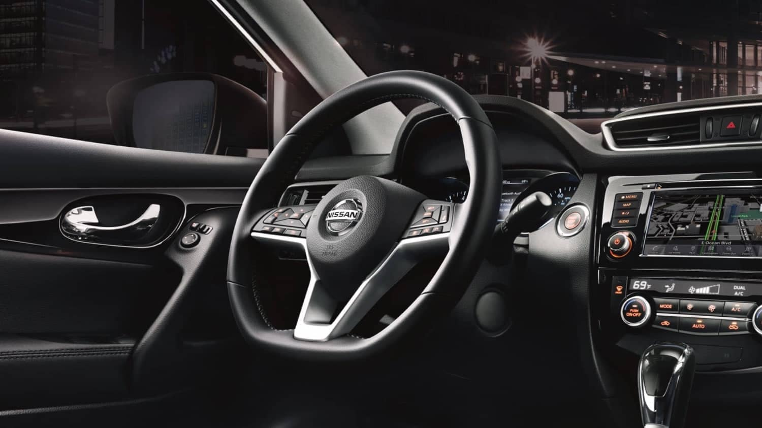 2020 Nissan Qashqai Interior Shift Surround 01