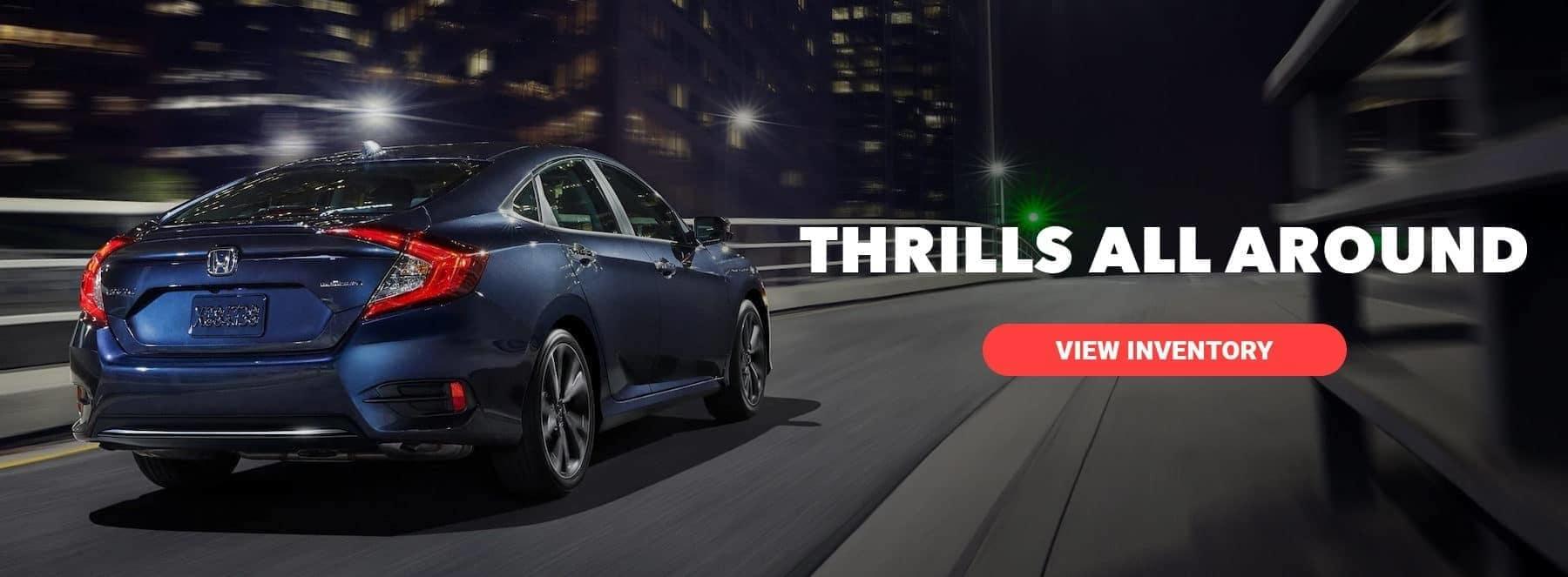 thrills all around, links to civic vehicle page