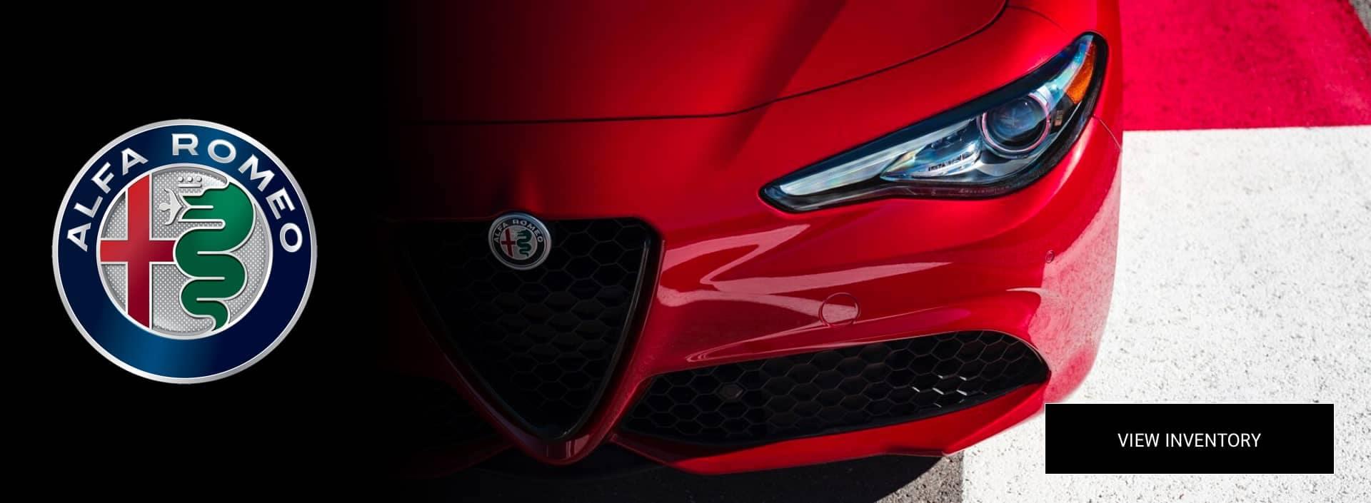 Alfa Romeo New Inventory banner