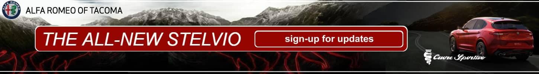 Sign-Up for Updates on the 2017/18 Alfa Romeo Stelvio at Alfa Romeo of Tacoma