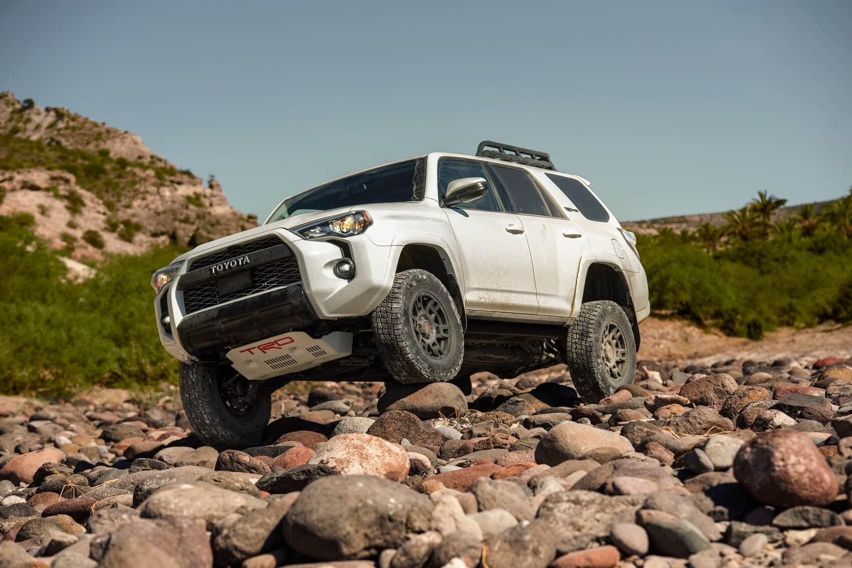 Toyota 4Runner Off-Roading