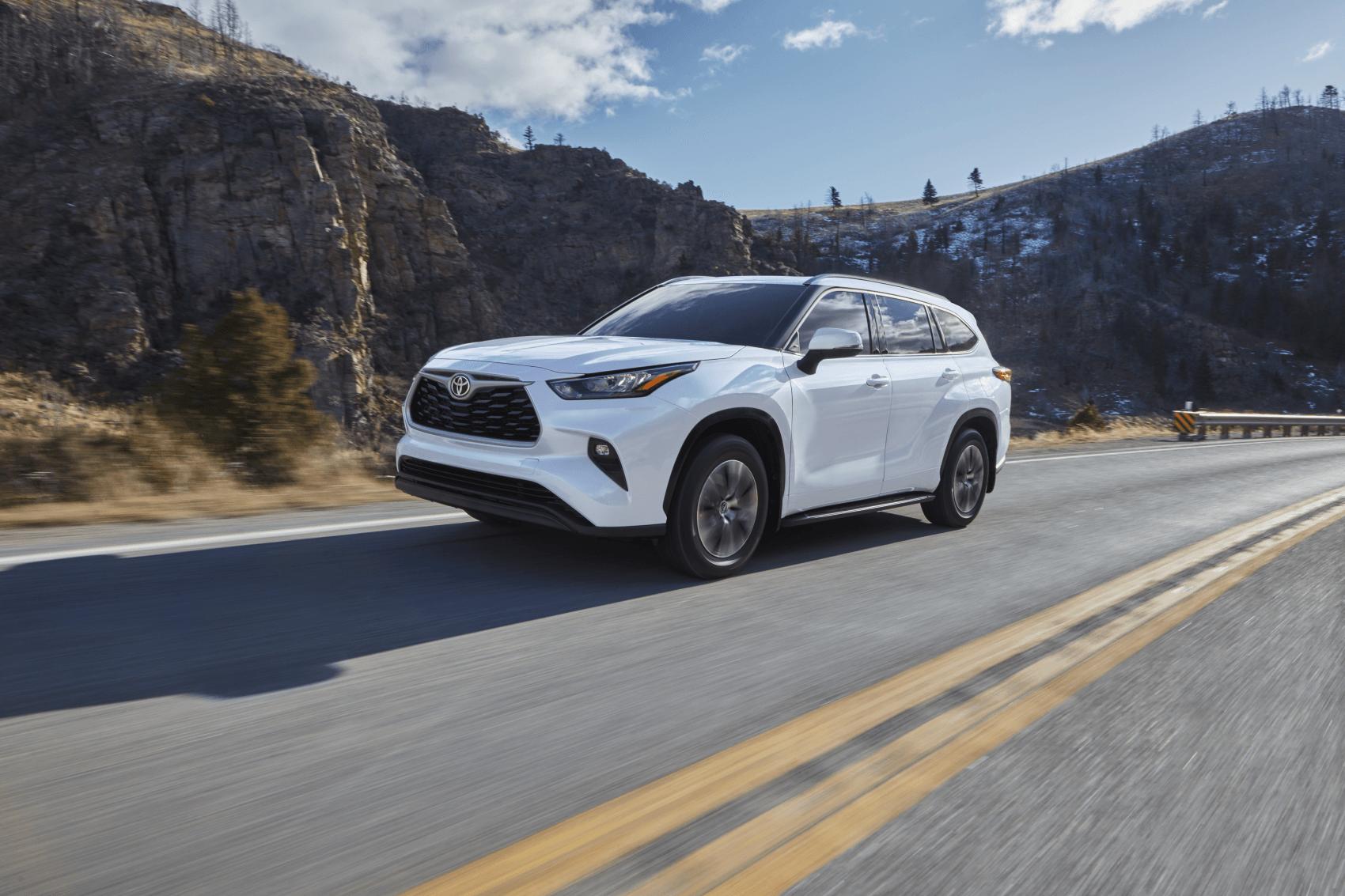 2020 Toyota Highlander White