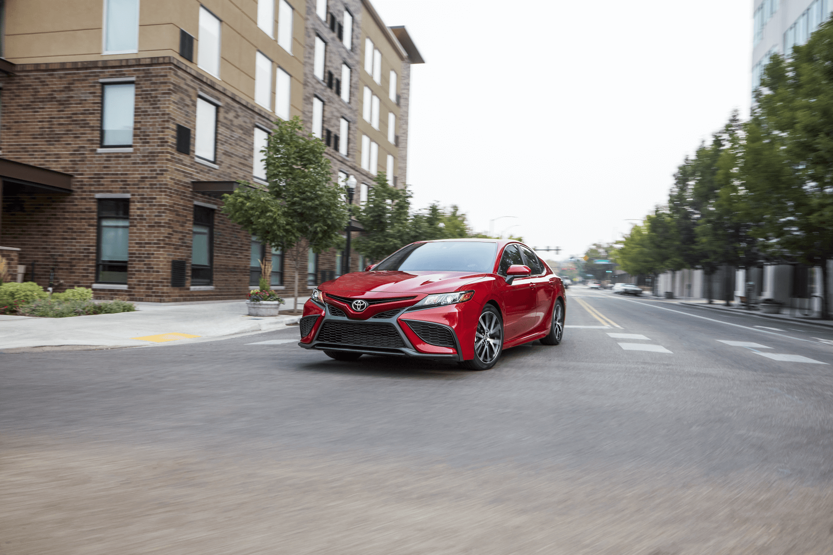 2021 Toyota Camry Red City