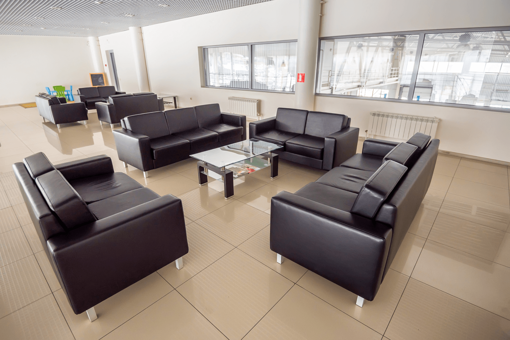 Customer Lounge Toyota Dealer