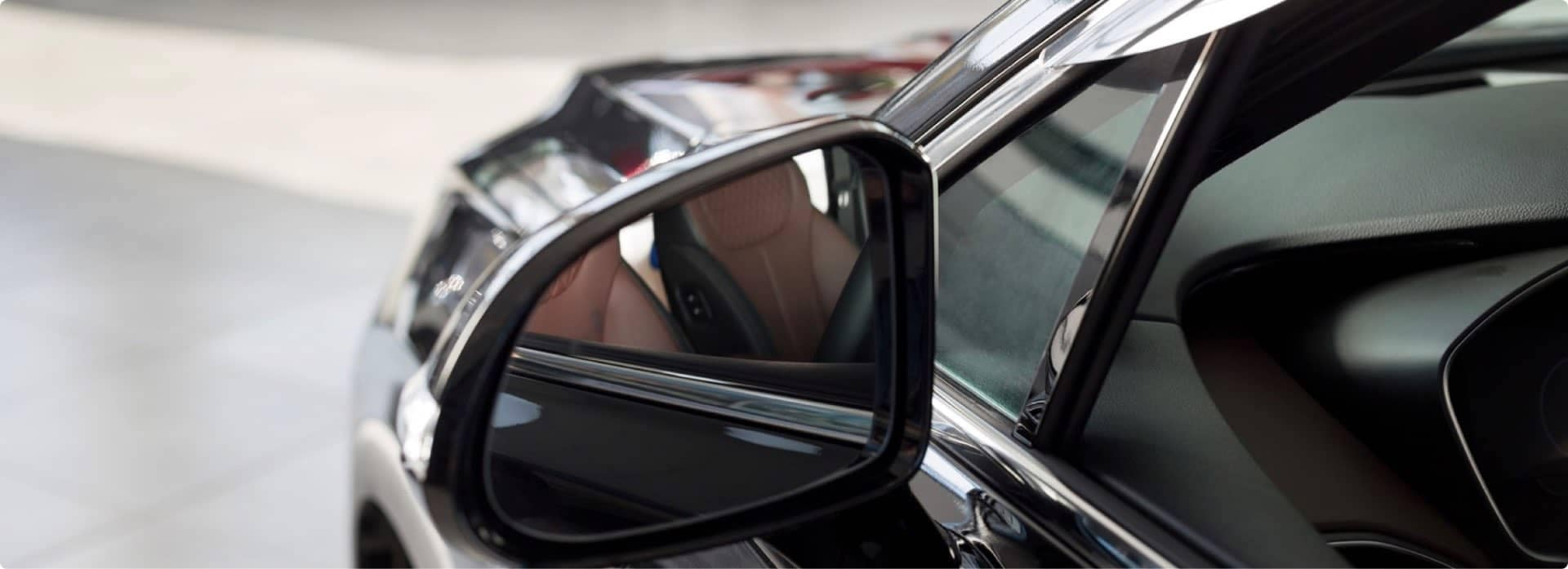 An exterior shot of a Honda
