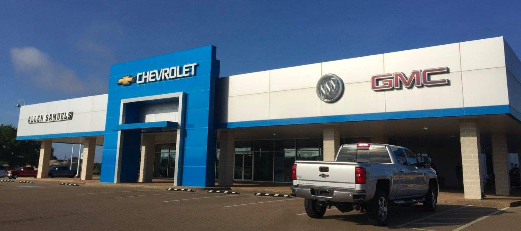 Outside view of the dealership