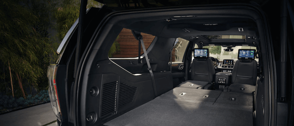 Chevy Suburban interior cargo space