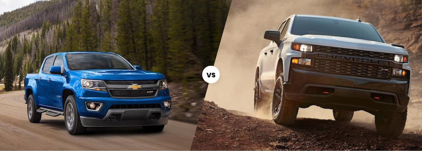2020 Chevy Colorado vs. 2020 Chevy Silverado 1500