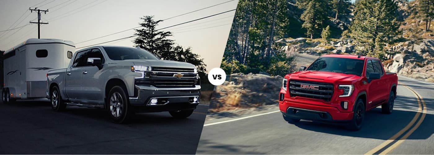 2020 Chevy Silverado 1500 vs. GMC Sierra 1500