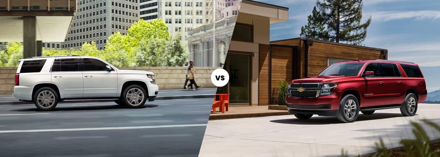2020 Chevy Tahoe vs. 2020 Chevy Suburban