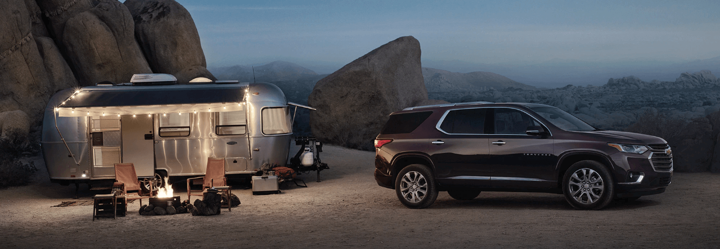 2020 chevy traverse towing trailer