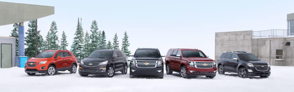 Chevy SUV Lineup