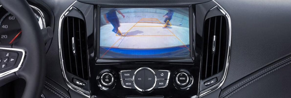2017 Chevy Cruze back up cam screen