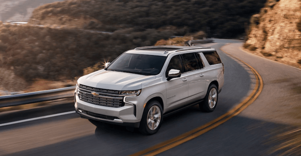 2021 Chevy Suburban Highway Banner