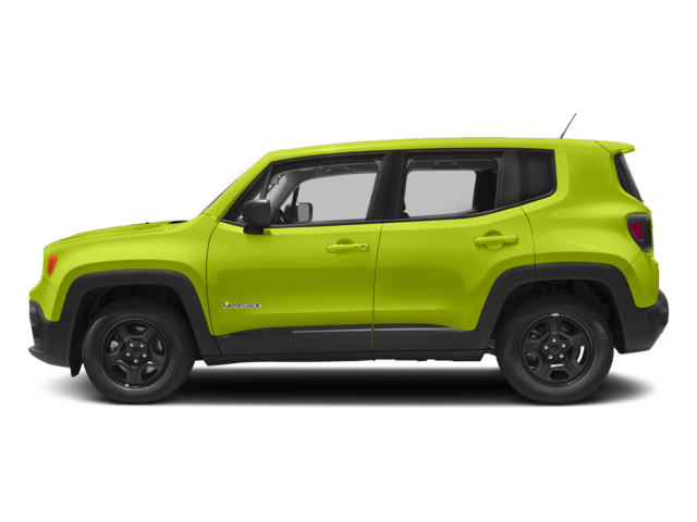 2018 Jeep Renegade Sideview