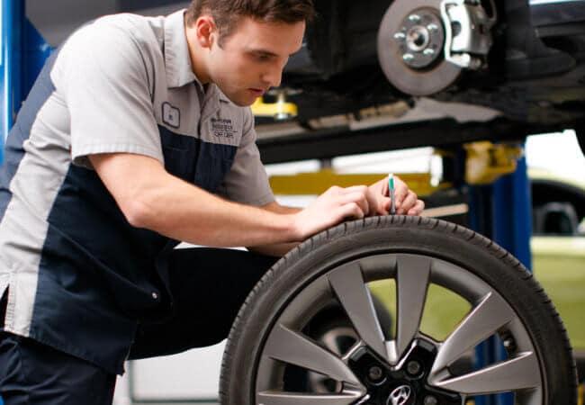 Certified Hyundai Tire Service
