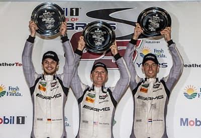 AMG GT3 team
