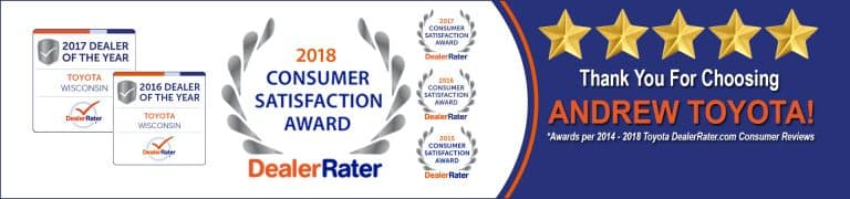 2018 Consumer Satisfaction Award