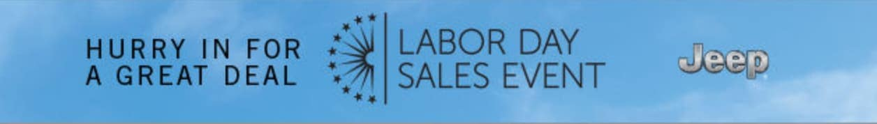 Jeep Labor Day Sales Event