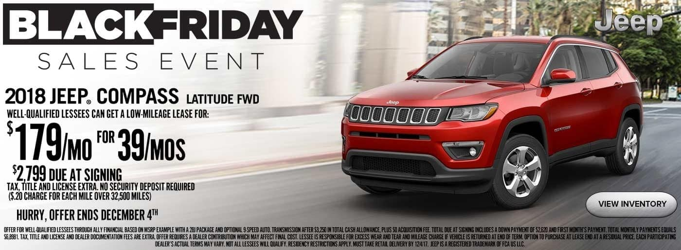 Jeep Black Friday Sales Event