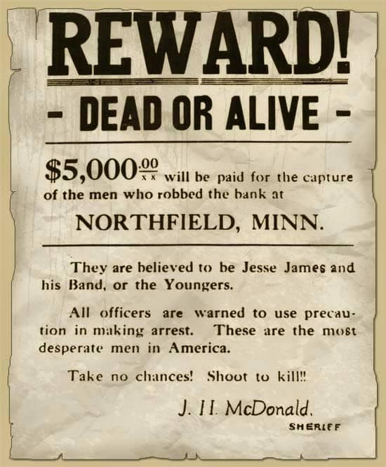 Jesse James Northfield Bank