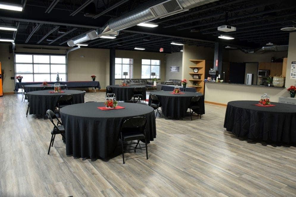 room rental tables dining