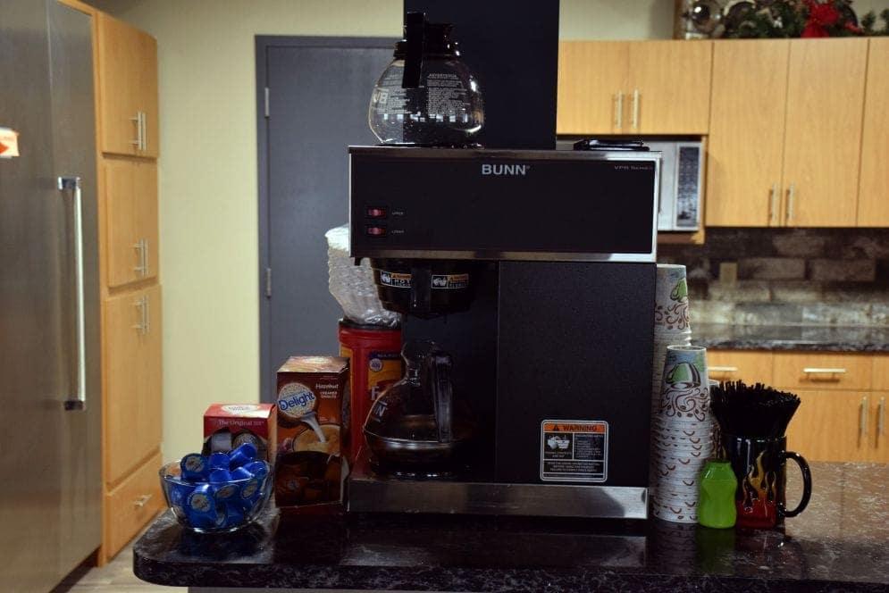 room rental coffee accessories