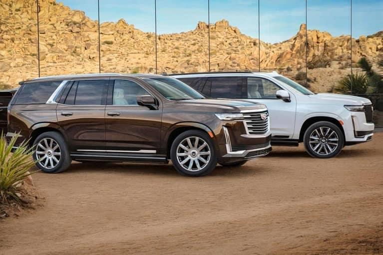 Two 2020 Cadillac Escalades mobile
