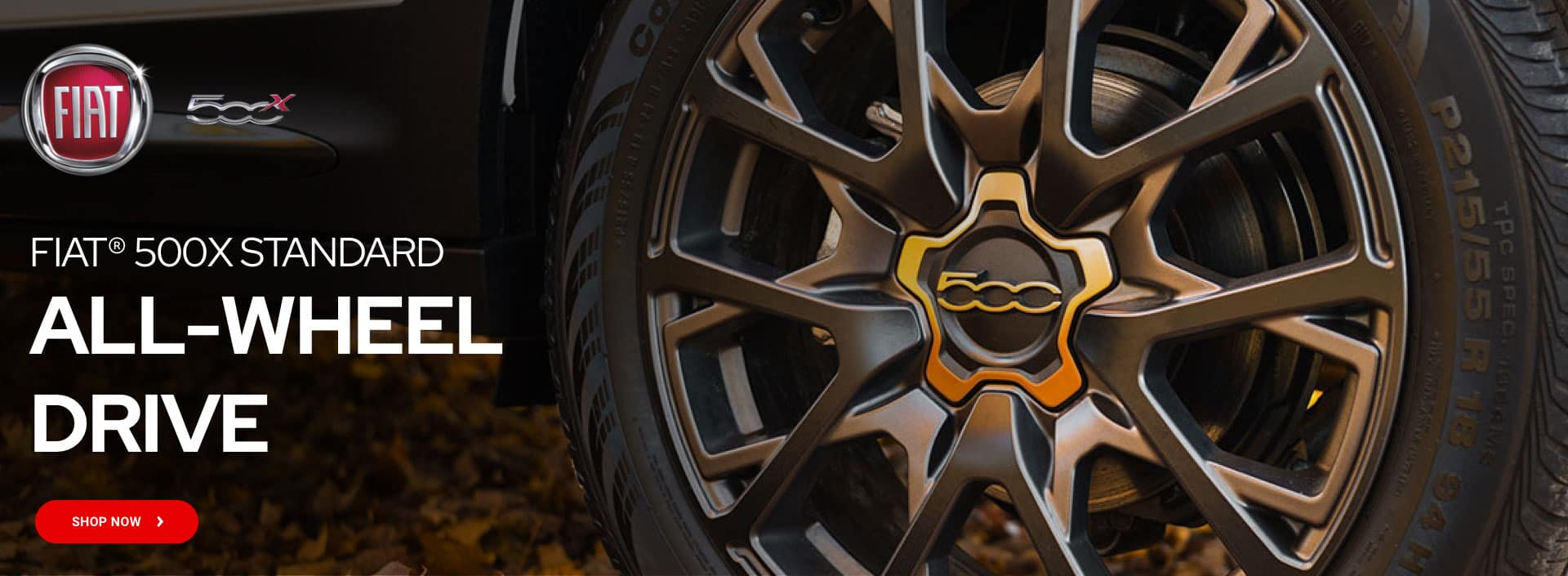 Fiat 500x Standard all wheel drive
