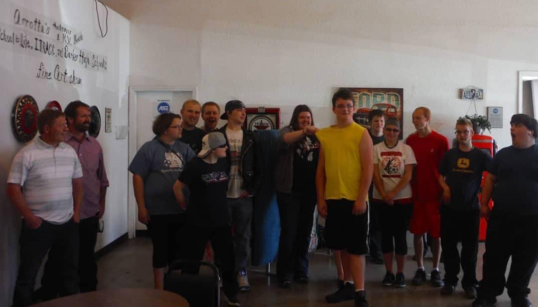 Barker High School Art Show