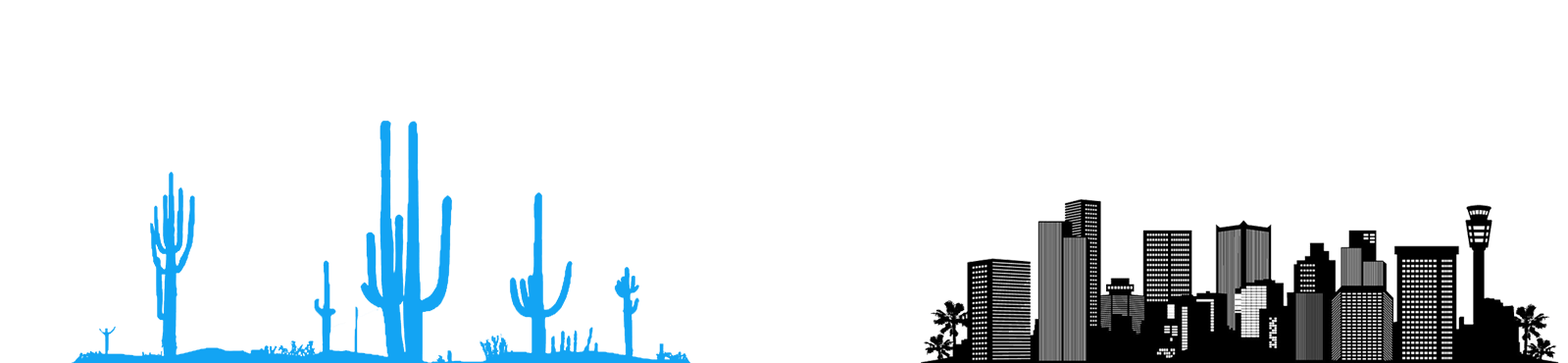 desert and city icon