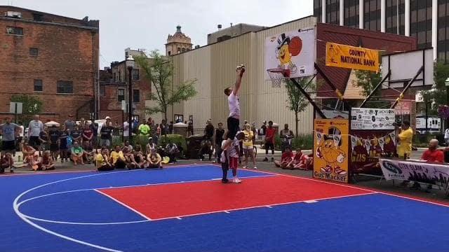 3 on 3 Basketball