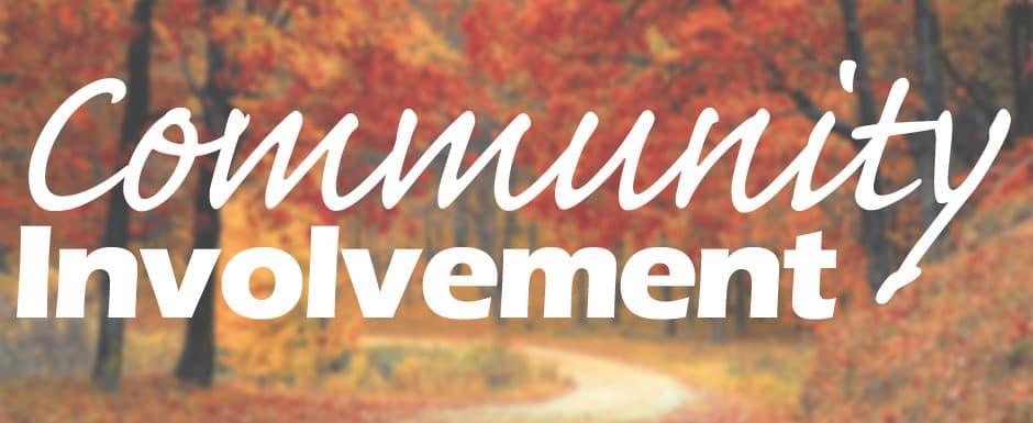 Community Involvement Banner