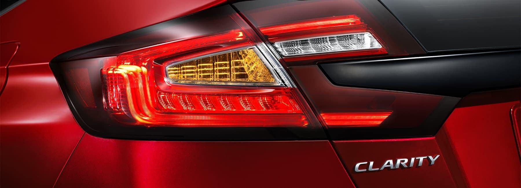 2020 Honda Clarity tail light