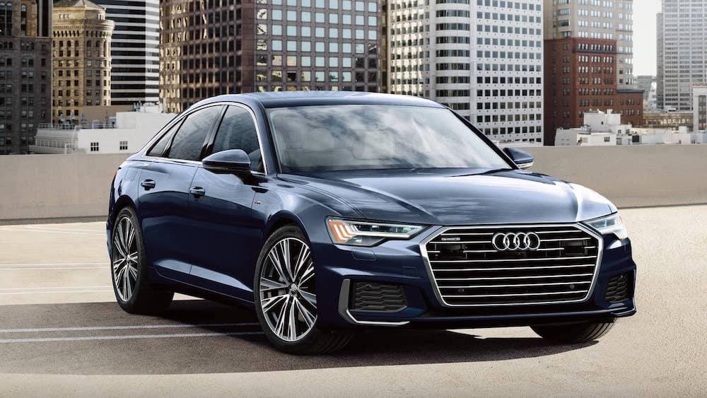 Audi A6 Parked