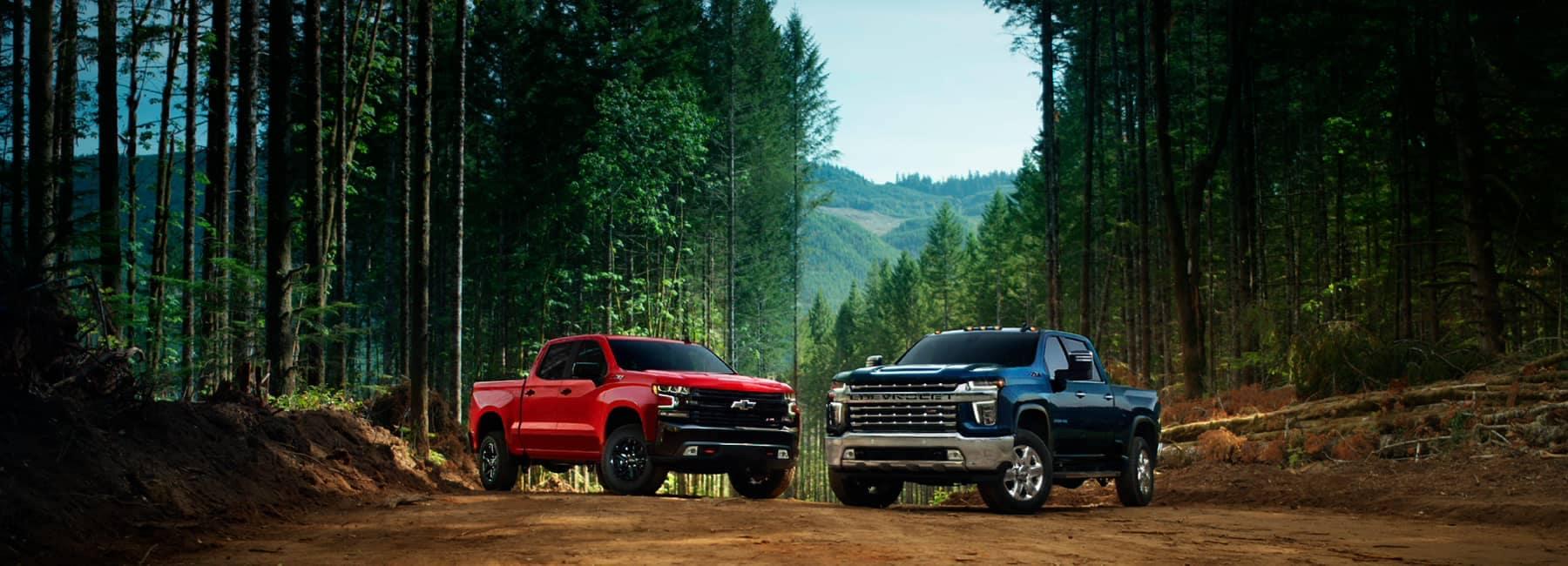 2021 Chevrolet Silverado Lineup