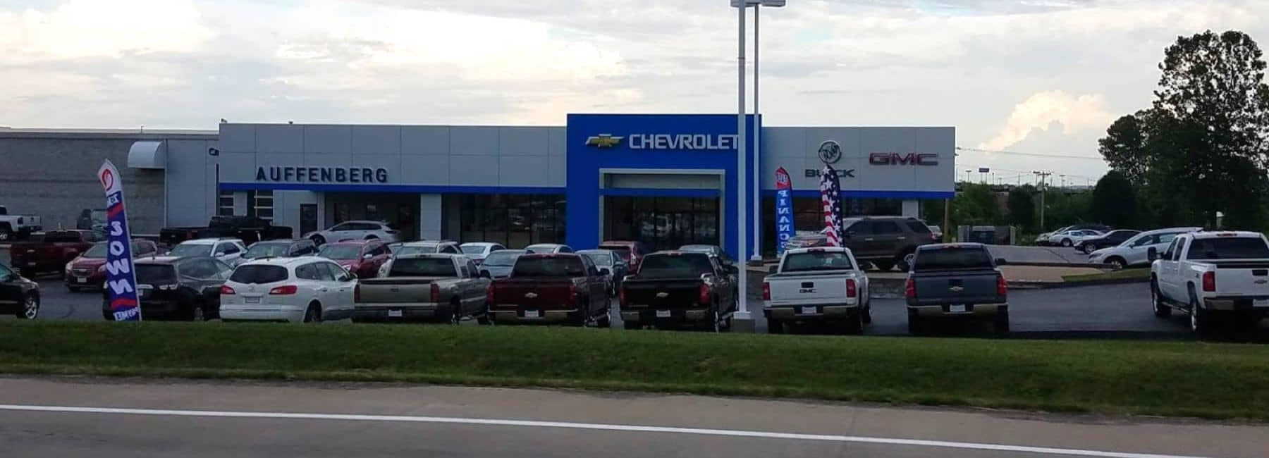 Front view of Affenberg Dealership