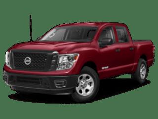 2019 Nissan Titan angled