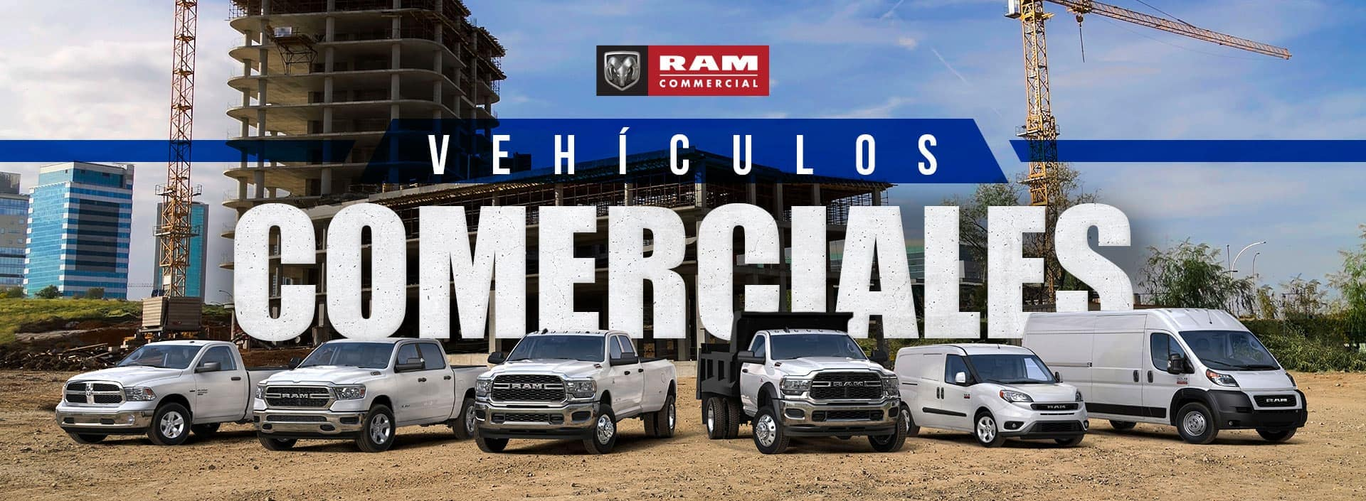 Commercial Vehicles Banner