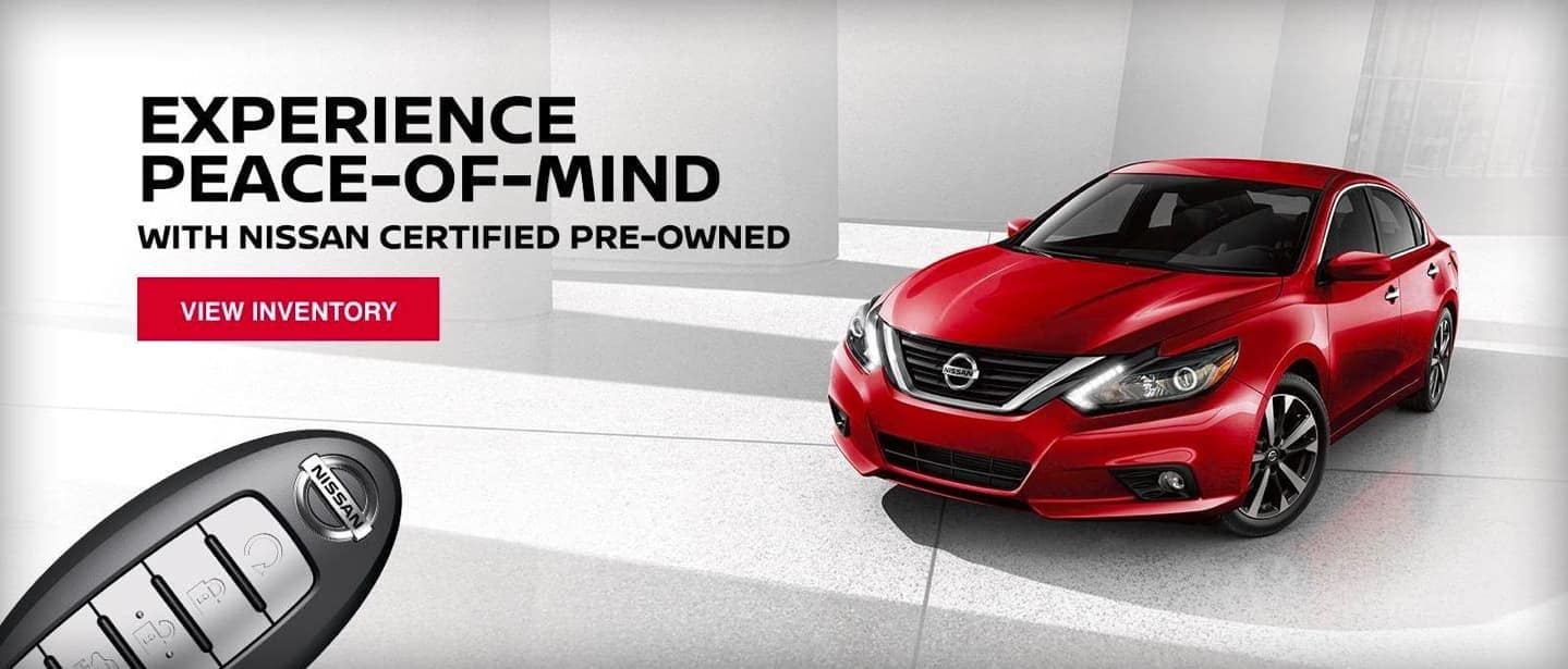 Experience Nissan with Certified Pre-Owned Vehicles
