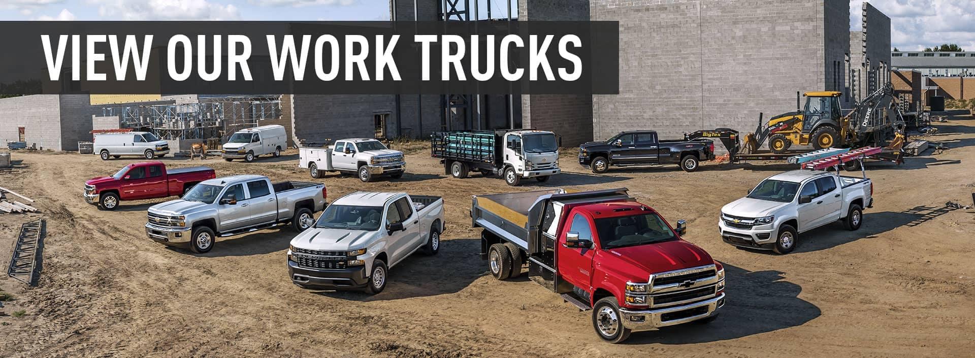 Chevy Work Trucks